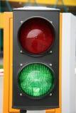ljus trafik Royaltyfri Foto