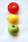 ljus trafik för frukt Arkivbilder