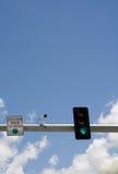 ljus trafik för kamera Arkivfoto