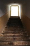 ljus trappa Arkivbilder