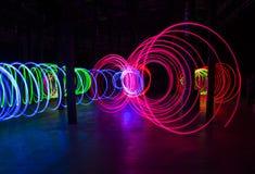 ljus tunnel Fotografering för Bildbyråer