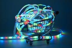 Ljus - utsändande av dioder Royaltyfri Fotografi