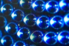 Ljus - utsändande av dioder för LED skärm Digital LEDD skärmbakgrund Royaltyfri Bild