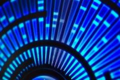 Ljus - utsändande av dioder för LED skärm Digital LEDD skärmbakgrund Fotografering för Bildbyråer
