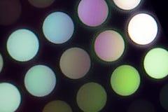 Ljus - utsändande av dioder för LED skärm Digital LEDD skärmbakgrund Arkivbild