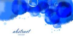 Ljus vattenfärgbakgrund för vektor Royaltyfria Bilder
