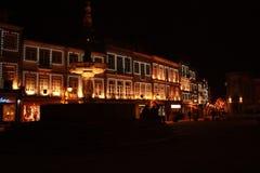 Ljus vid natt Royaltyfri Bild