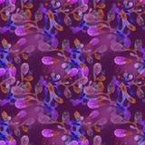 Ljus violett modell Arkivbilder