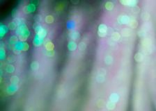 Ljus vit bokeh med defocused skinande ljus royaltyfria foton