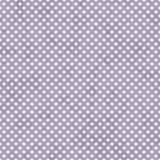 Ljus - vit liten polka Dots Pattern Repeat Backgroun för lilor och Arkivbild
