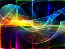 ljus wave vektor illustrationer