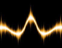 ljus wave Arkivbilder