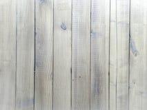 Ljus wood texturbakgrund, vita wood plankor Gammal grunge tvättade trä, målad bästa sikt för trätabellmodell Royaltyfria Foton