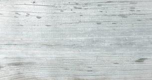 Ljus wood texturbakgrund, vita wood plankor Gammal grunge tvättade trä, målad bästa sikt för trätabellmodell Fotografering för Bildbyråer