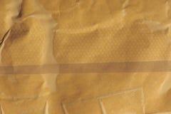 Ljus - yttersidabakgrund för brunt papper Arkivbild