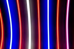 Ljusa abstrakta bakgrundsband Fotografering för Bildbyråer