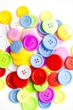 Ljusa blandade knappar, arkivfoto