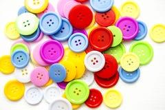 Ljusa blandade knappar, stock illustrationer