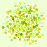 ljusa cirklar för bakgrund Stock Illustrationer