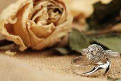 ljusa cirklar för bakgrund som gifta sig white Royaltyfria Bilder