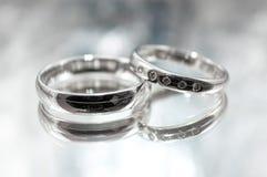ljusa cirklar för bakgrund som gifta sig white Fotografering för Bildbyråer