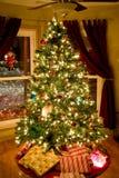 ljusa cristmas Royaltyfri Bild