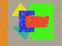 ljusa diagram Arkivfoton