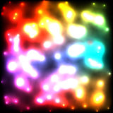 ljusa exponeringar Arkivbilder