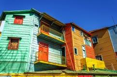 Ljusa färger i Buenos Aires Arkivfoto