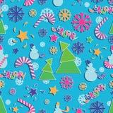 Ljusa festliga JANUARI! vektor illustrationer
