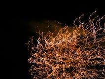 ljusa fläckar Fotografering för Bildbyråer