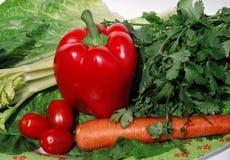 ljusa grönsaker arkivfoto