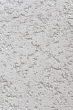 Ljusa Grey Wall Stucco Texture, detaljerade naturliga Gray Coarse Rustic Textured Background, utrymme för lodlinjebetongkopia Royaltyfria Bilder