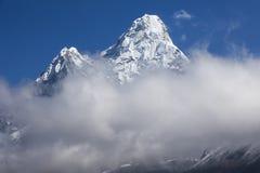 Ljusa Himalayas Arkivfoton