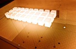 Ljusa kuber Arkivfoton