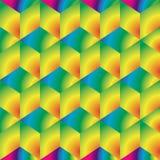 Ljusa kuber, bakgrund Royaltyfri Fotografi
