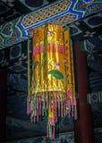 Ljusa kulöra ljus från naturligt kinesiskt silke Arkivfoto