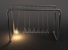 Ljusa kulor i evig rörelse vektor illustrationer