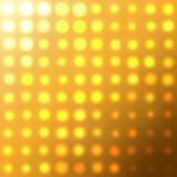 ljusa lampor Arkivfoto