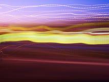 ljusa linjer Arkivfoto