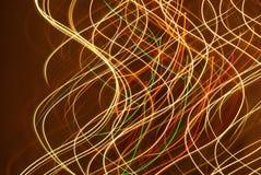 ljusa linjer Fotografering för Bildbyråer