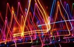 ljusa linjer Arkivbilder
