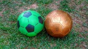Ljusa och tunga bollar Royaltyfri Fotografi