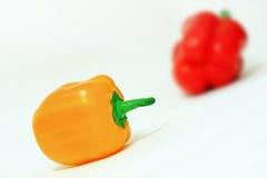 Ljusa peppar Fotografering för Bildbyråer