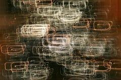 ljusa punkter Arkivbild