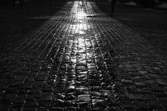 ljusa skuggor Arkivfoton