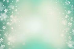 Ljusa Snowflakes arkivfoton