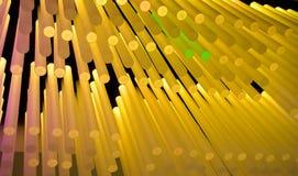 ljusa sticks Fotografering för Bildbyråer