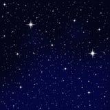 ljusa stjärnor Arkivfoto