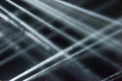 Ljusa strålar arkivfoton